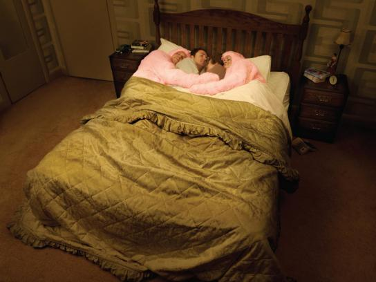 Pink Batts Print Ad -  Bed