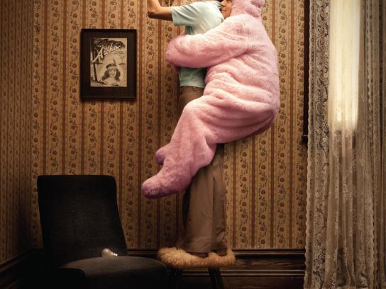 Pink Batts Print Ad -  Light bulb