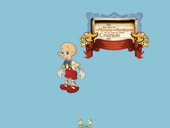 NACC Print Ad -  Pinocchio