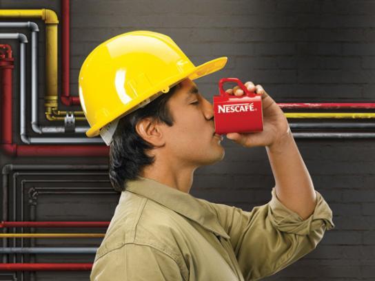 Nescafe Print Ad -  Pipeline