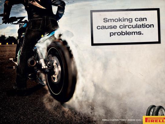 Pirelli Print Ad -  Smoke, 2