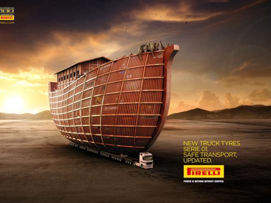 Pirelli Print Ad -  Noah's Ark