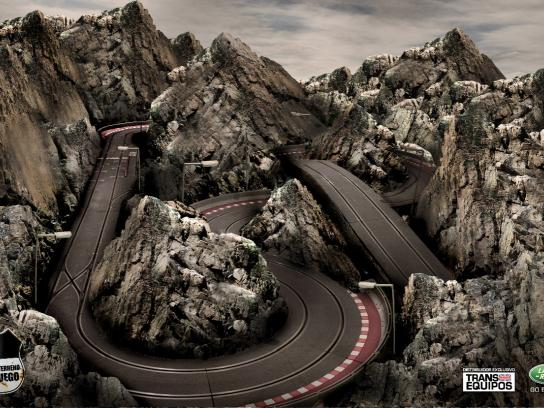 Land Rover Print Ad -  Any terrain is a game