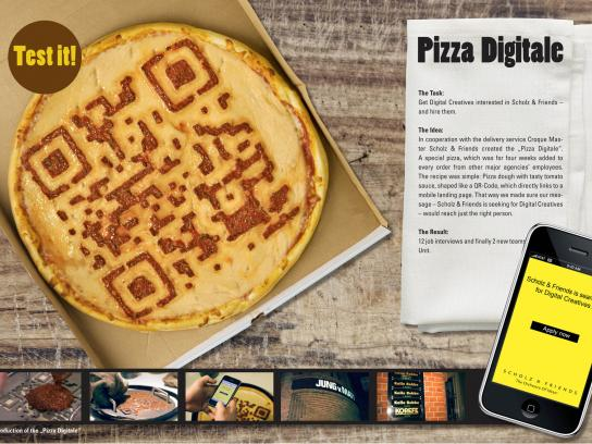 Scholz & Friends Direct Ad -  Pizza Digitale