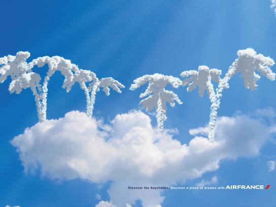 Air France Print Ad -  Place of Dreams, Seychelles