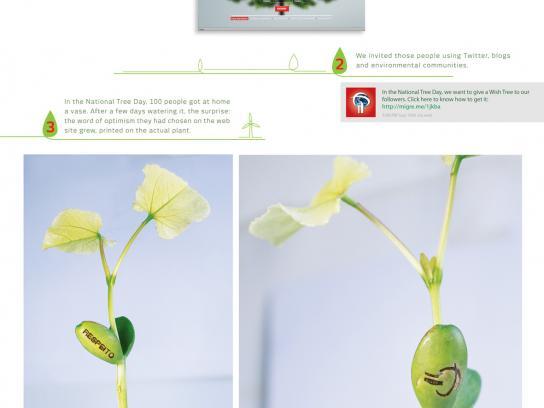 Banco do Planeta Direct Ad -  Wish Tree