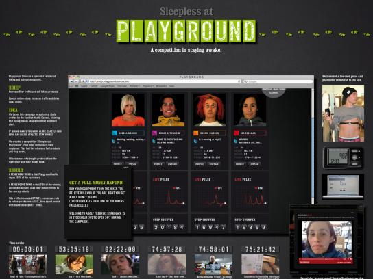 Playground Digital Ad -  Sleepless at Playground