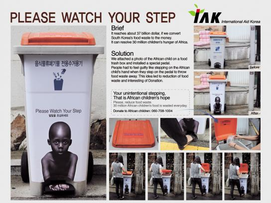 IAK Ambient Ad -  Please Watch Your Step