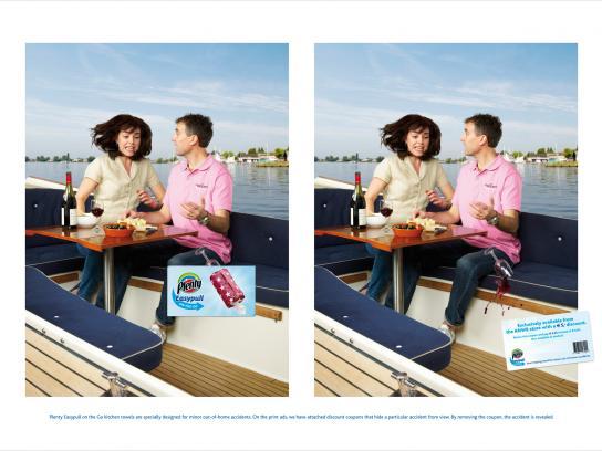 Plenty Easypull Print Ad -  Boat