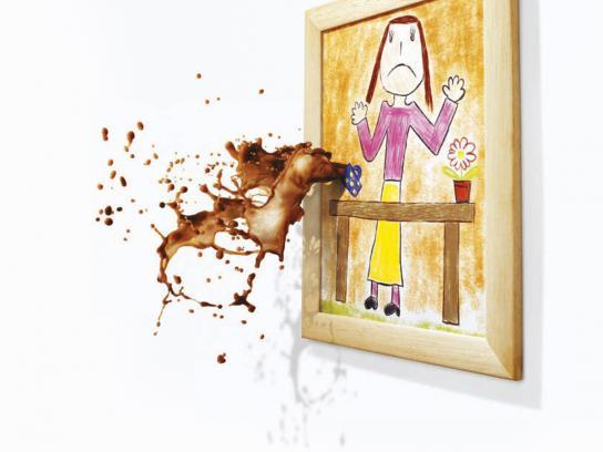 Ariel Print Ad -  Coffee