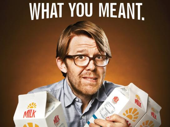 California Milk Processor Board Outdoor Ad -  Listened