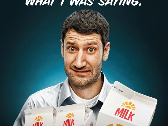 California Milk Processor Board Outdoor Ad -  Misinterpret