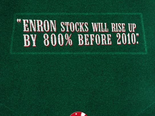 Bluff, Enron