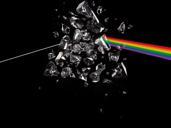 Polar Music Prize Print Ad -  Dark side of the moon