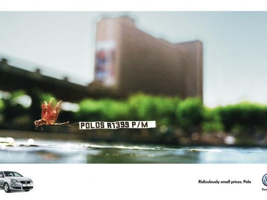 Volkswagen Print Ad -  Dragonfly
