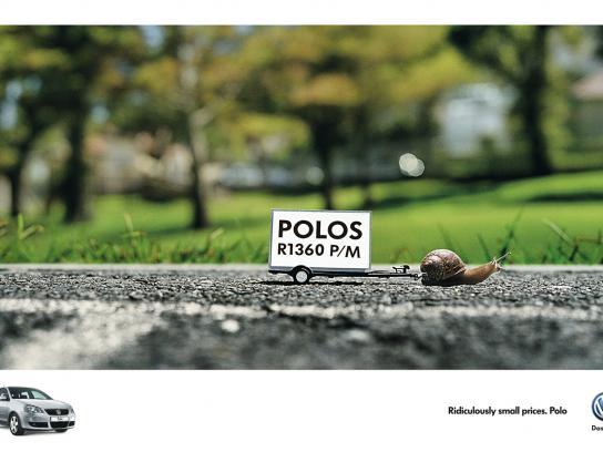 Volkswagen Print Ad -  Snail