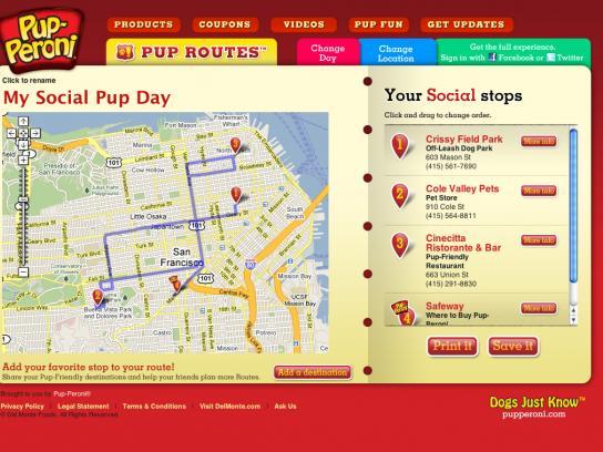 Pup-Peroni Print Ad -  Pop routes