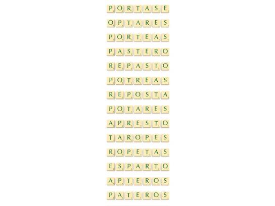 Scrabble Print Ad -  Posarte