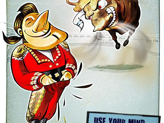Itchguard Print Ad -  Bull