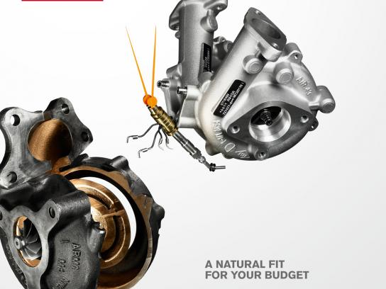 Nissan Outdoor Ad -  Natural Fit, 1