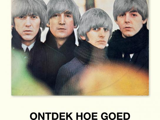 Recordplanet.nl Print Ad -  Beatles