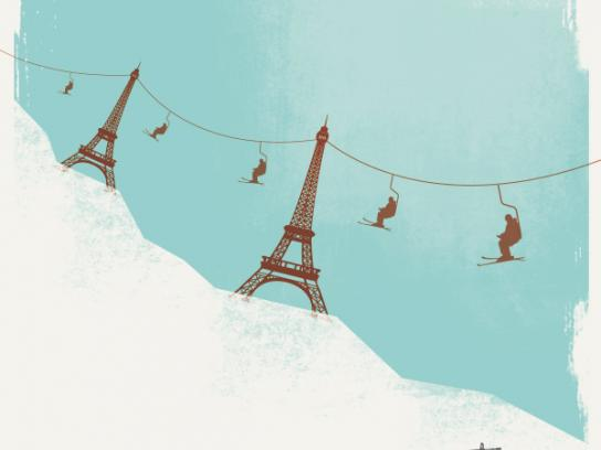 Beaujolais & Beyond Festival Print Ad -  Mountain