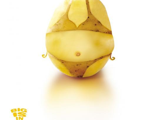 Magimix Print Ad -  Potato