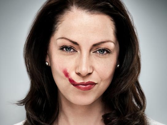 Pothole Season Print Ad -  Lipstick