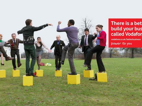 Vodafone Outdoor Ad -  Pots