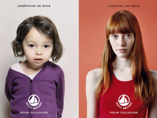 Petit Bateau Print Ad -  Josephine