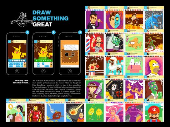 Romeu&Julieta Studio Digital Ad -  Draw something great