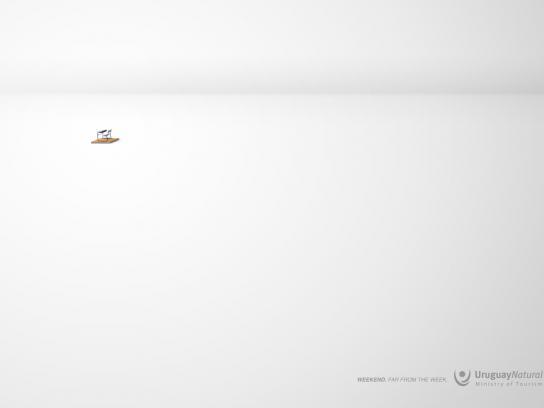 Uruguay Natural Print Ad -  Desk