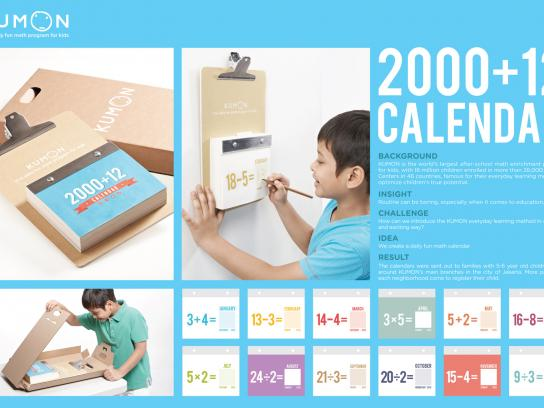 Kumon Direct Ad -  Daily Fun Math