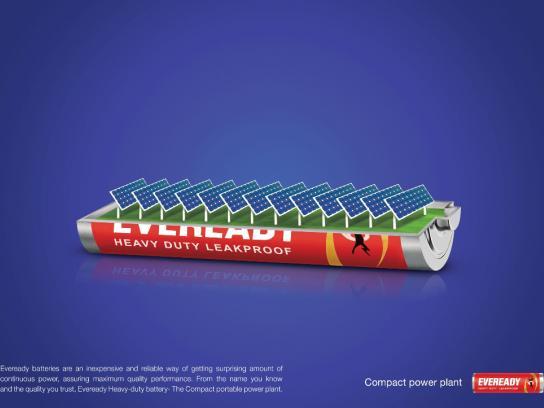 Eveready Print Ad -  Sun