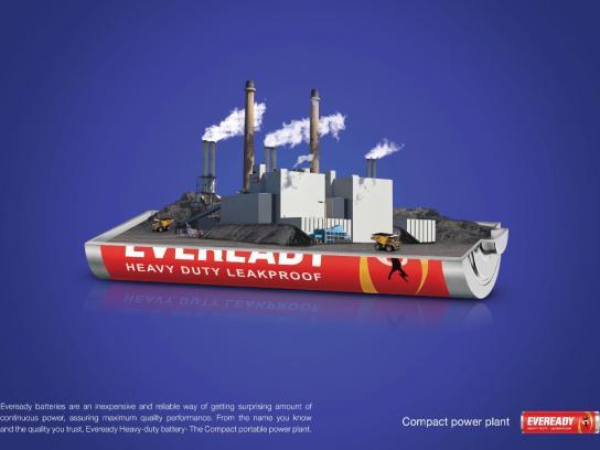 Eveready Print Ad -  Coal