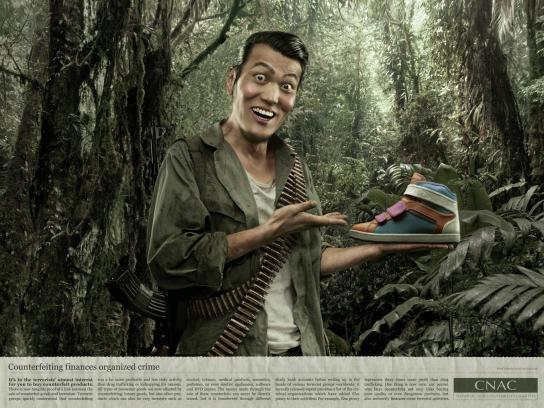 CNAC Print Ad -  Shoes