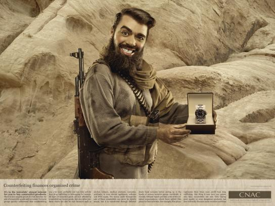 CNAC Print Ad -  Watch