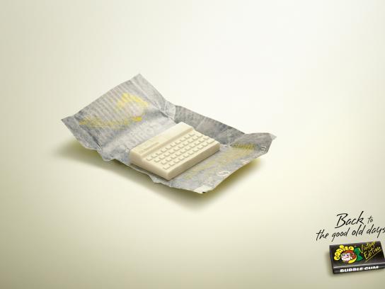 Gorila Print Ad -  ZX Spectrum