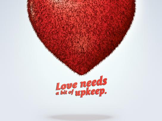 Wilkinson Print Ad -  Smooth Valentine's Day