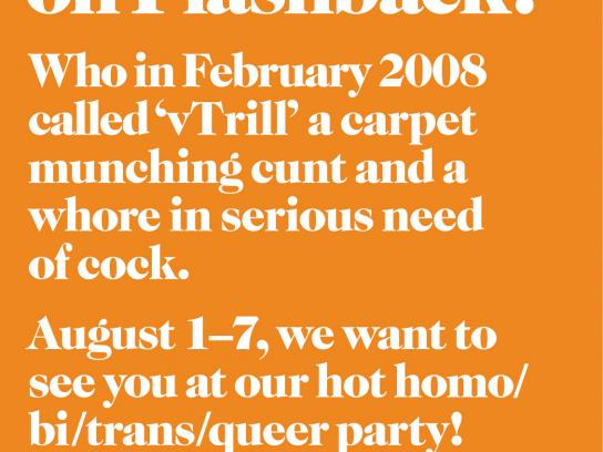 Stockholm Pride Print Ad -  Geccko