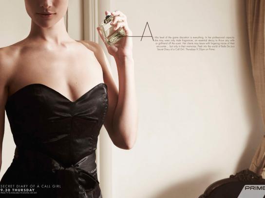 Prime TV Print Ad -  Fragrance