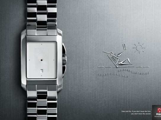 Prime Personal Banking Print Ad -  Watch, 2