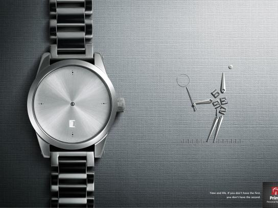 Prime Personal Banking Print Ad -  Watch, 3