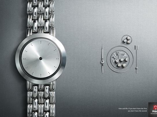 Prime Personal Banking Print Ad -  Watch, 6
