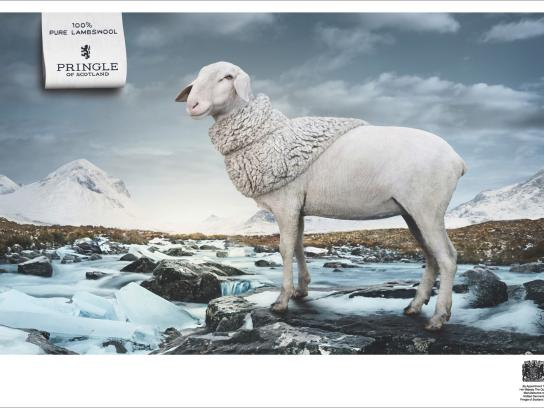 Pringle of Scotland Print Ad -  River