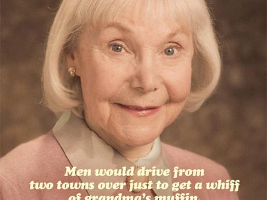 Crosby's Print Ad -  Grandma's Muffin