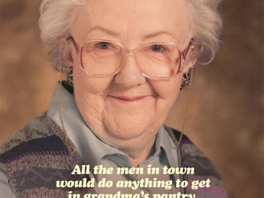 Crosby's Print Ad -  Grandma's Pantry