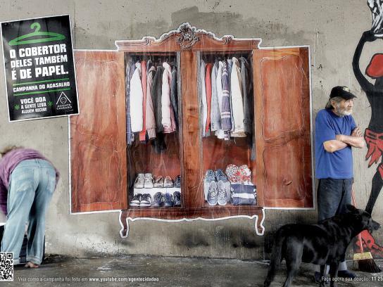 Agente Cidadão Print Ad -  Blanket