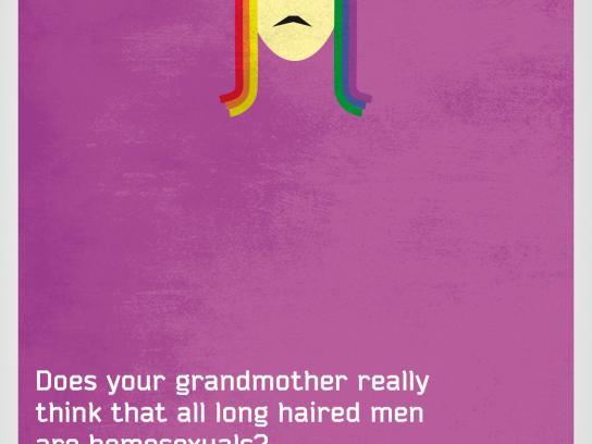 Piano Media Print Ad -  Homosexuals