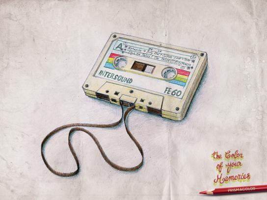 Prismacolor Print Ad -  Cassette